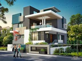 Home Design 3d Modern Home Design House 3d Interior Exterior Design Rendering