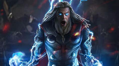 thor  mjolnir  stormbreaker hd superheroes