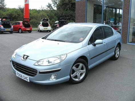 used peugeot for sale uk used peugeot 407 2009 petrol 2 0 se 4dr saloon blue manual