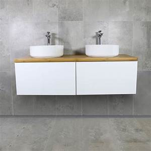 Bamboo timber vanity top 1200mm highgrove bathrooms for Bamboo in the bathroom