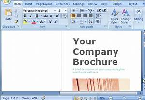 microsoft word brochure template doliquid With free travel brochure templates for microsoft word