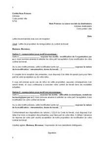 modele contrat de travail cadre commercial document