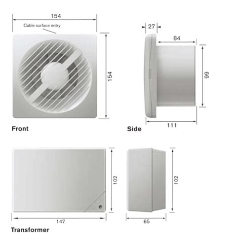 Bathroom Extractor Fan Ip Rating by Greenwood Airvac Axs100svit Low Volt Timer Pullcord