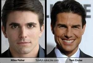 Miles Fisher Totally Looks Like Tom Cruise - Totally Looks ...