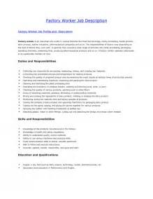 resume for factory worker the most stylish resume for factory worker resume format web