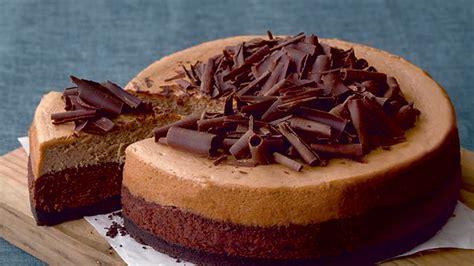 chocolate  coffee cheesecake