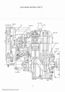 Yanmar Ym135 Ym135d Diesel Tractor Parts Manual