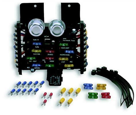 painless wiring 30001 12 circuit compact universal fuse block ebay