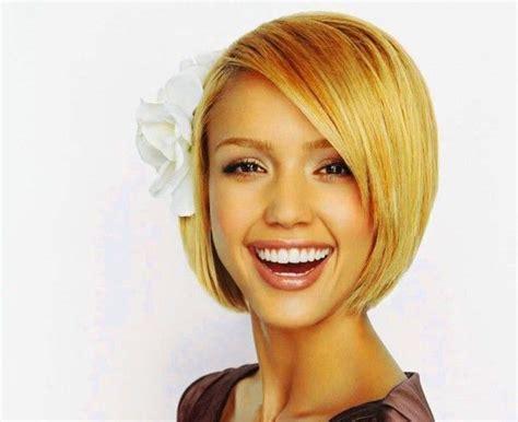 Jessica Alba Bob Short Hairstyle Flip...cute Short