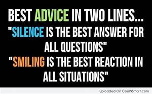 Famous Quotes A... Smile N Silence Quotes
