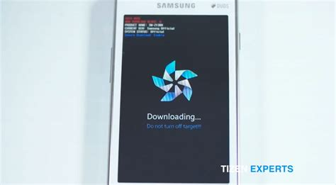 how to flash software firmware update the samsung z1 z2