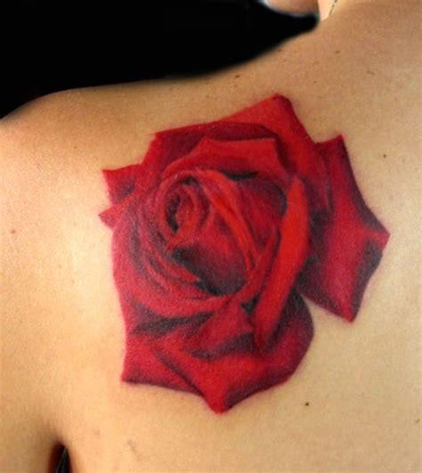Red Rose Tattoo By Tiffany Garcia  Tattoos Flower, Plant