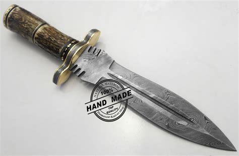 awesome kitchen knives best damascus dagger knife custom handmade manufactured