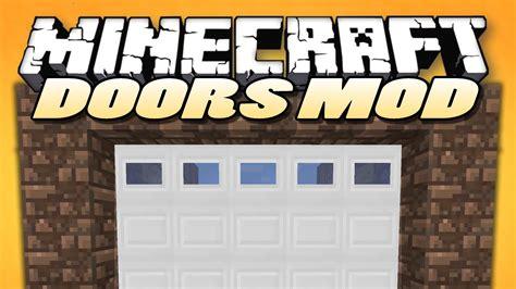 minecraft mods malisis doors sliding doors block