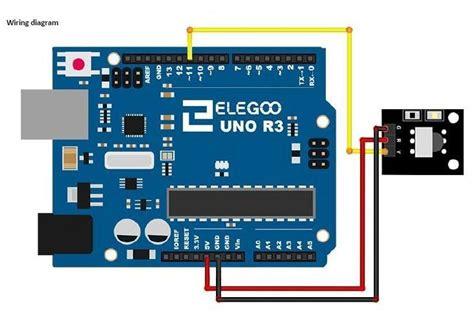 elegoo uno  starter kit lesson  ir receiver module