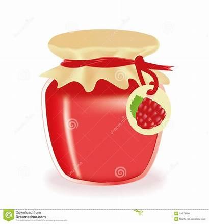 Jam Jar Clipart Marmellata Marmelade Pot Raspberry