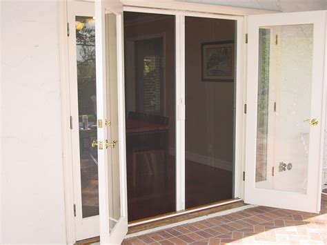 homeofficedecoration double french doors  screens