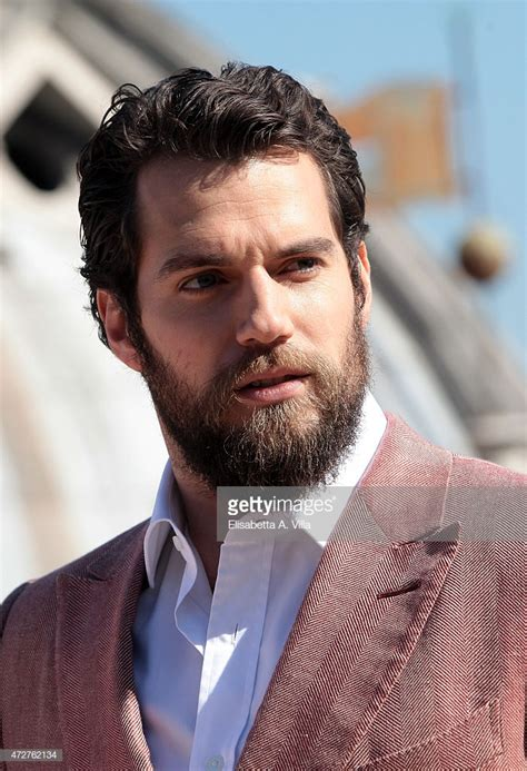 Actor Henry Cavill attends 'The Man From U.N.C.L.E ...