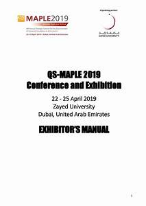 Exhibitor Services Manual  U2013 Qs