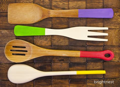 bright colored kitchen utensils brightnest stay organized 5 things to color code in 4905