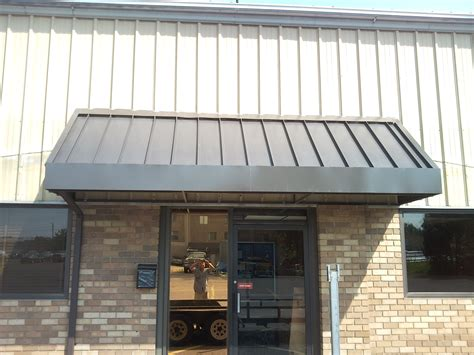 metal rear entrance awning  manchester ct  haven awning
