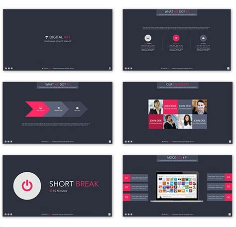 animated powerpoint templates  sample