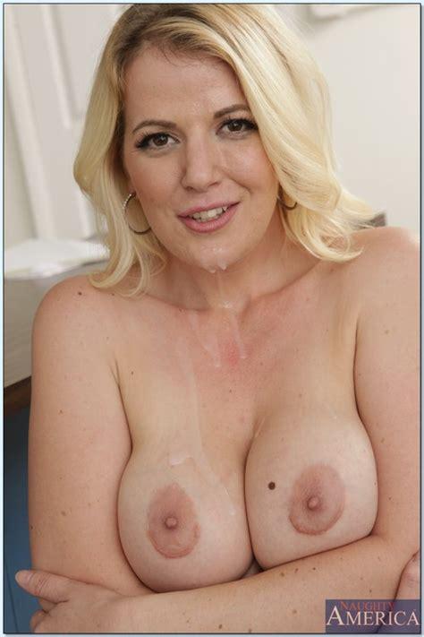 Naughty MILF Babe Anita Blue Humping On Tadger MILF Fox