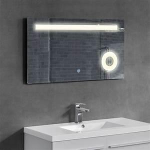 Led badezimmerspiegel wandspiegel spiegel for Spiegel schrank