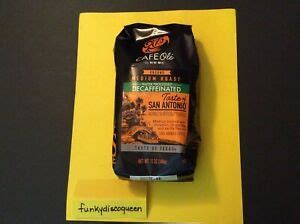 * the % daily value (dv) tells you how much a nutrient in a serving of food contributes to a daily diet. HEB Cafe Ole Coffee GROUND DECAF San Antonio Texas 12 oz ...