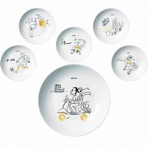 Assiette Pour Pates : assiettes special pasta la chaise longue absolument design ~ Teatrodelosmanantiales.com Idées de Décoration