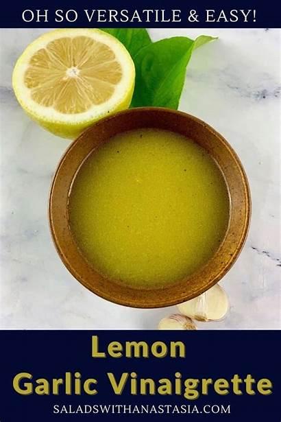 Garlic Lemon Vinaigrette
