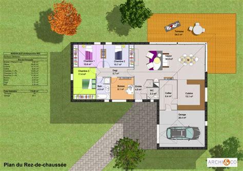 plan de cuisine en 3d gratuit plan maison plain pied maison françois fabie