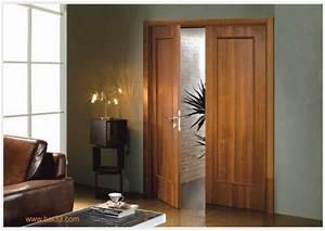 Porte Intérieur Double Vantaux : porte int rieur bordeaux ~ Melissatoandfro.com Idées de Décoration