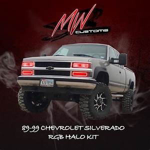 1988 Chevrolet Obs Rgb Halo Kit  Top And Bottom
