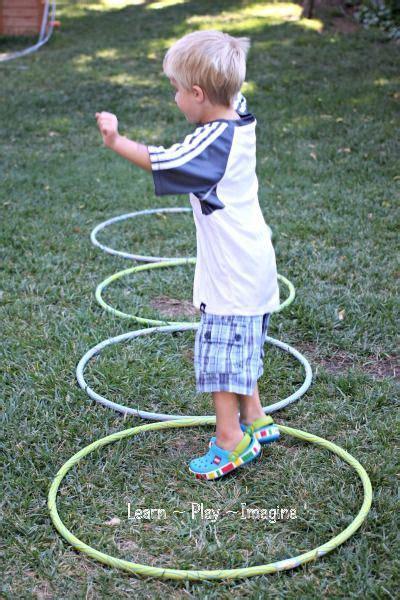 Gross Motor Activity {Hula Hoop Games} ~ Learn Play ...