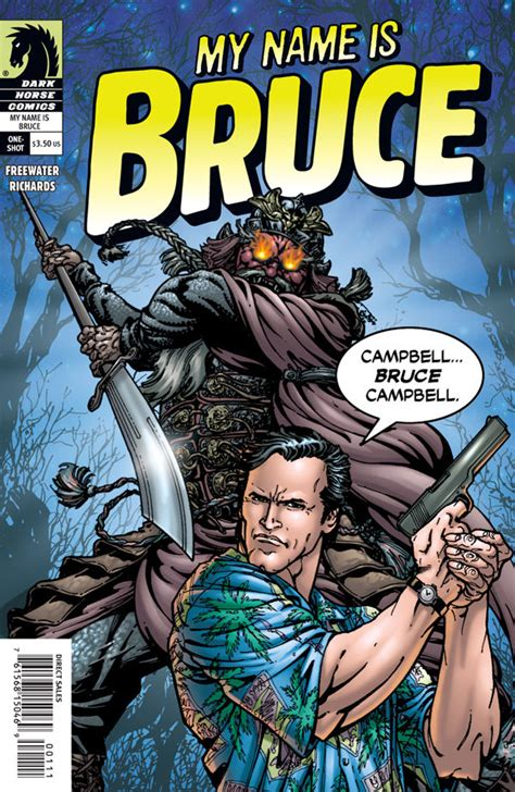 My Name is Bruce :: Profile :: Dark Horse Comics