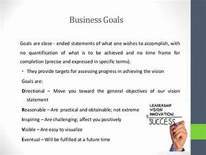 business policy and strategic management With company goals and objectives template