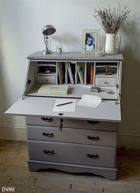 bureau ebay lovely painted vintage shabby chic bureau desk farrow