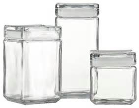 modern kitchen canisters stackable glass storage jars modern kitchen canisters and jars by crate barrel