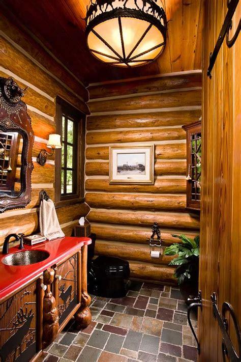 bathroom designs  rocky mountain log homes style