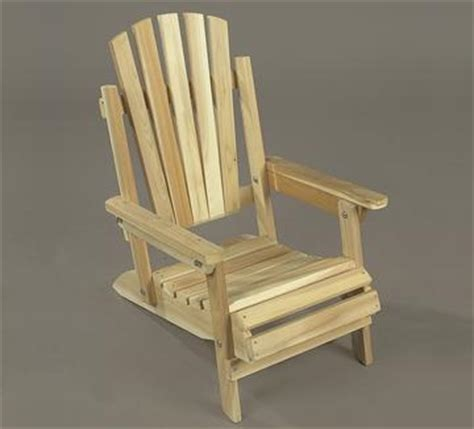 northern white cedar childs adirondack chair