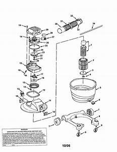 Craftsman 16 Gallon Wet  Dry Vac Parts