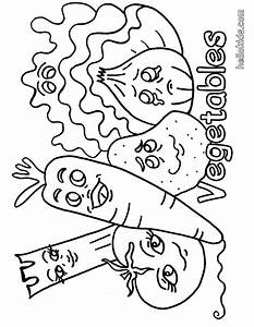 VEGETABLE Coloring Pages Vegetable