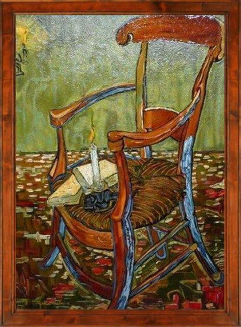 la chaise de gogh la chaise de gauguin d 39 après gogh 80x100