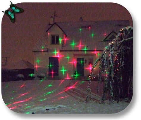 mini laser etoiles coeurs decoration noel  anime la
