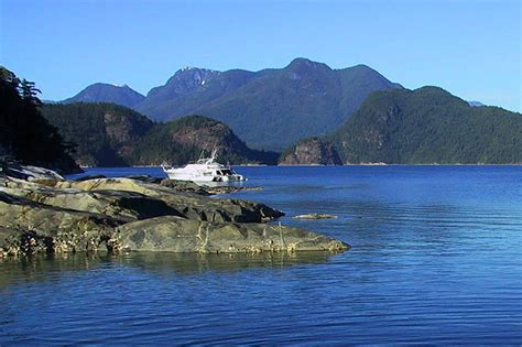 Boat Parts Bc by Desolation Sound Marine Provincial Park Vancouver Island