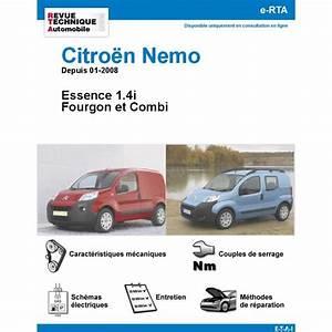 Citroen Nemo Fiche Technique : revue technique citro n n mo essence rta site officiel etai ~ Maxctalentgroup.com Avis de Voitures