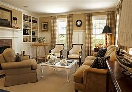 Living Room Designs Traditional by Sumptuous Buffalo Check Curtains In Living Room Traditional With Board And Ba