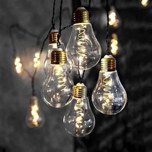 Guirlande Lumineuse Ampoule : guirlande ampoules led ~ Teatrodelosmanantiales.com Idées de Décoration