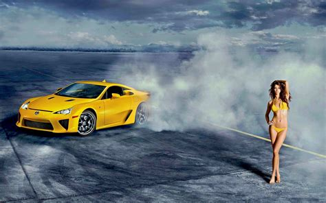 sport cars with girls athletic and sport car wallpapers and images